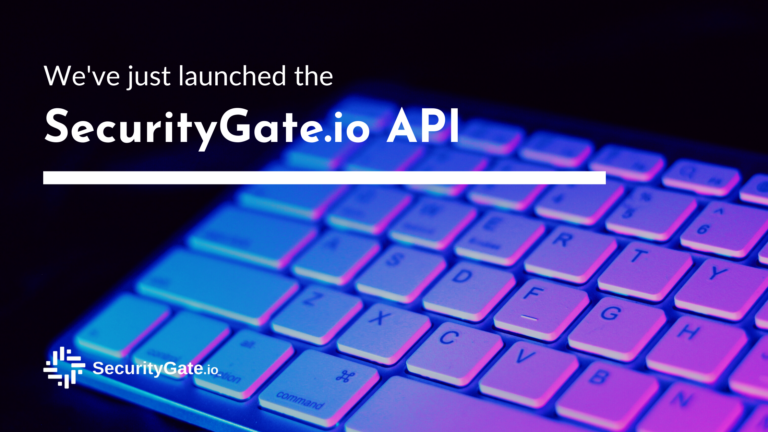 we've just launched our api