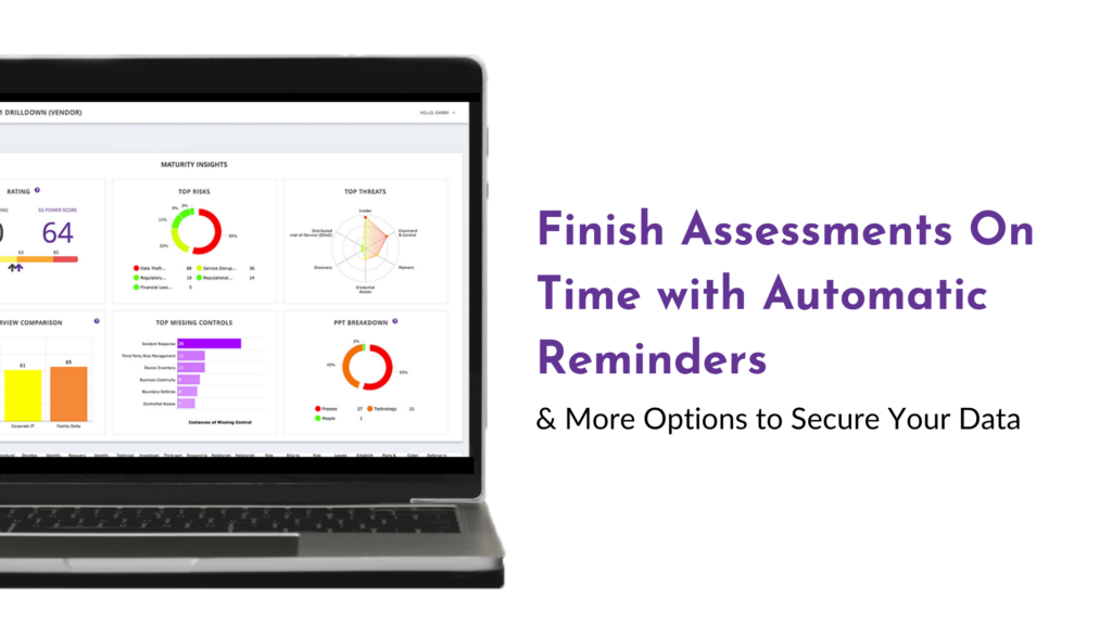 blog header for Finish Assessments On-Time with Automatic Reminders and More Options to Secure Your Data