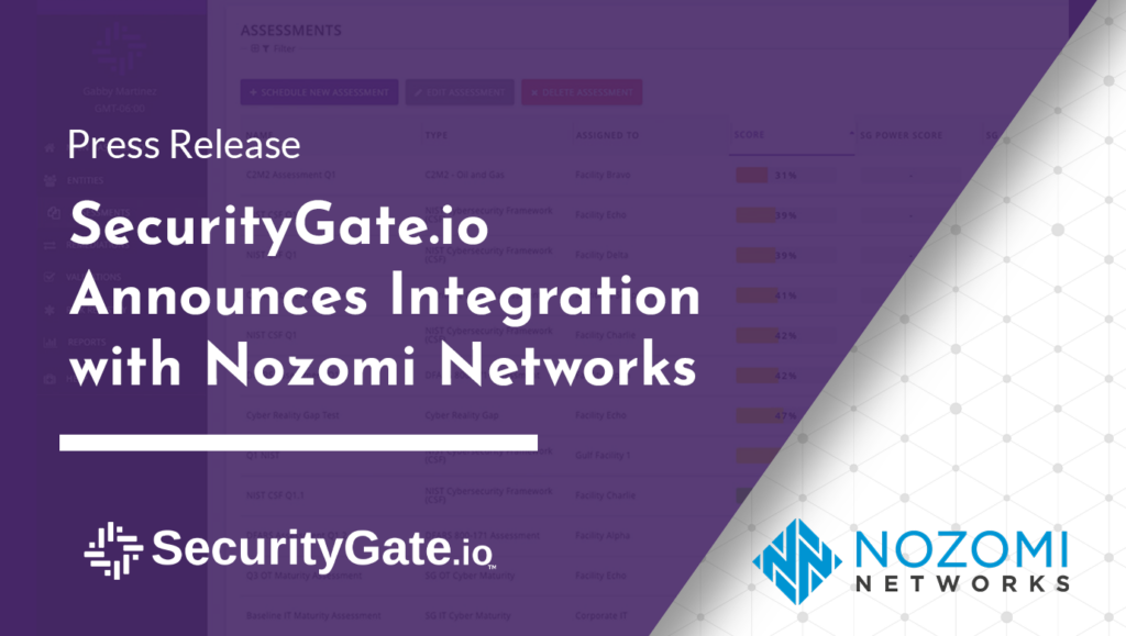 securitygate.io integration with nozomi networks