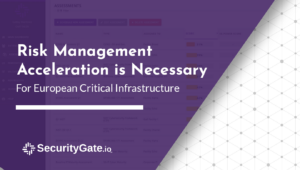 risk management acceleration is necessary